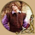 Costume - Brown Leather Doublet with green accents